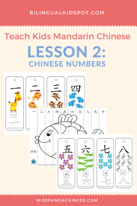 Chinese for Kids - Lesson 2: Chinese Numbers & Counting in Chinese for kids