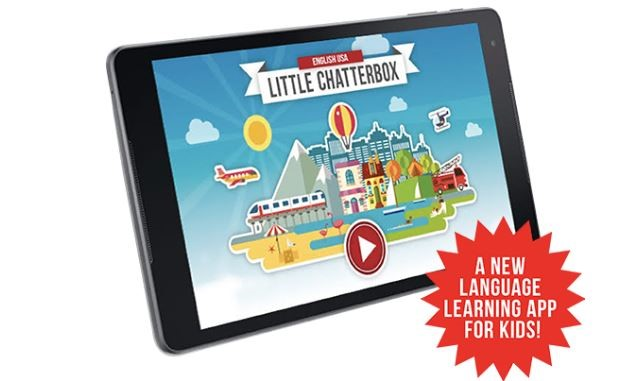 Little Chatterbox language learning app for kids learning languages