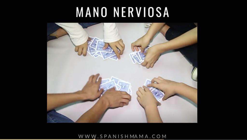 Spanish Game for Kids - Mano Nerviosa