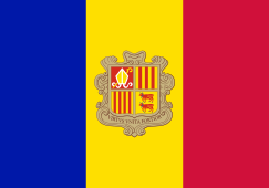 Andorra Flag - Spanish Speaking Countries