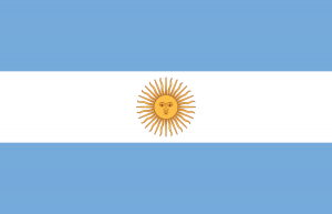 Argentina Flag - Spanish Speaking Countries