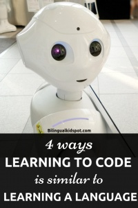 Is learning to code like learning a language