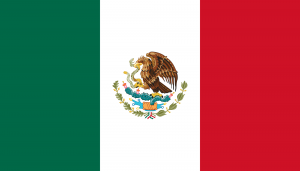 Mexico Flag - Spanish Speaking Countries