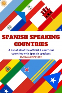 Spanish speaking countries around the world