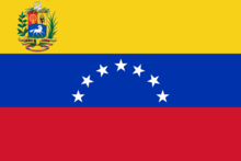 Venezuela Flag - Spanish Speaking Countries