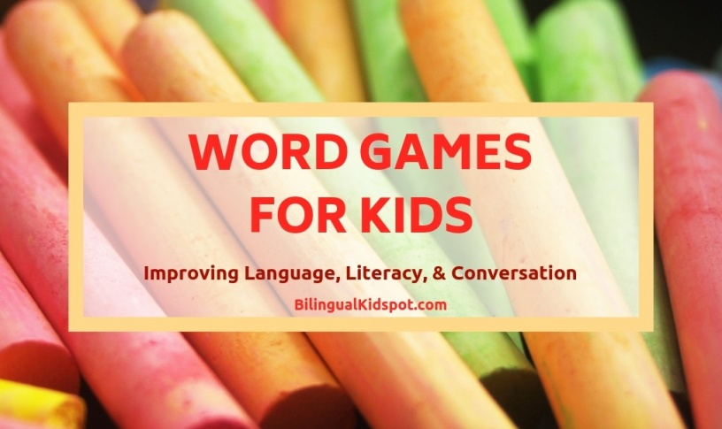 English Word Games for kids - Bilingual Kidspot