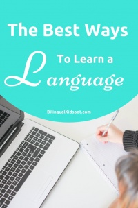 Best ways to learn a language as an adult