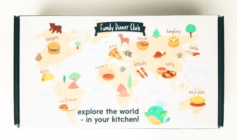 Cooking subscription box from around the world