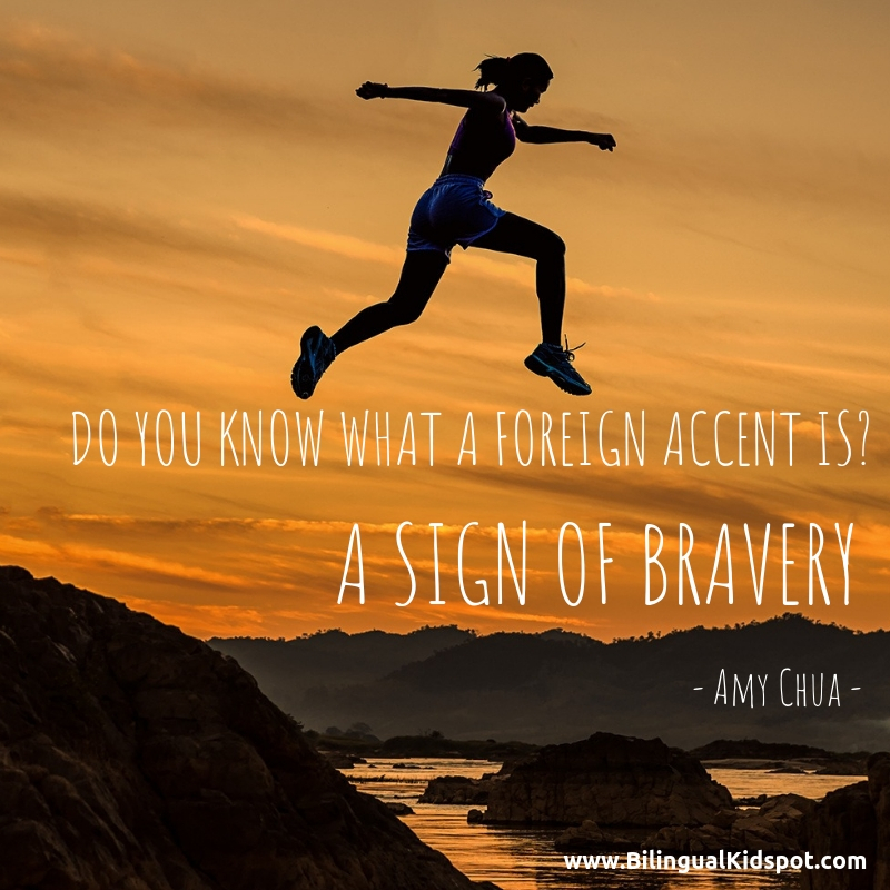 Foreign Accent Quote - Amy Chua