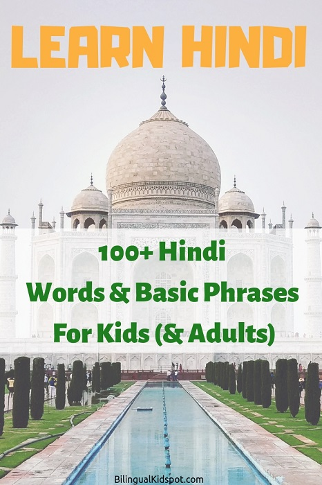 Learn Hindi 100 Basic Words and Phrases