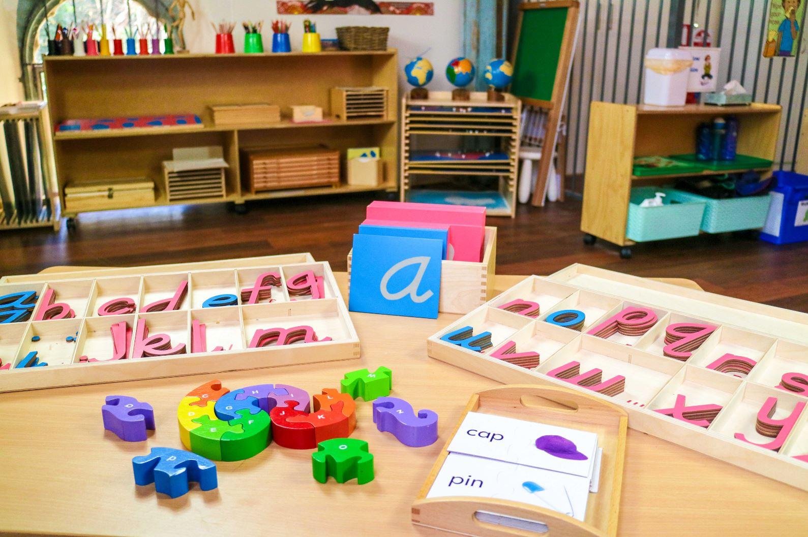 Montessori Language Development: Montessori Activities ...