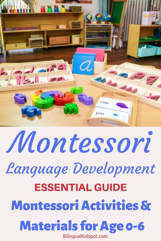 Ultimate Guide to Montessori Language Materials and Activities