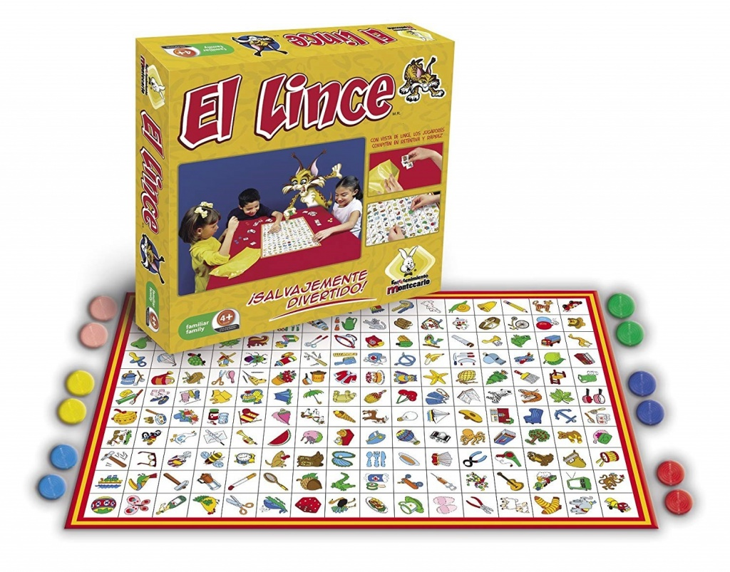 El Lince spanish board game