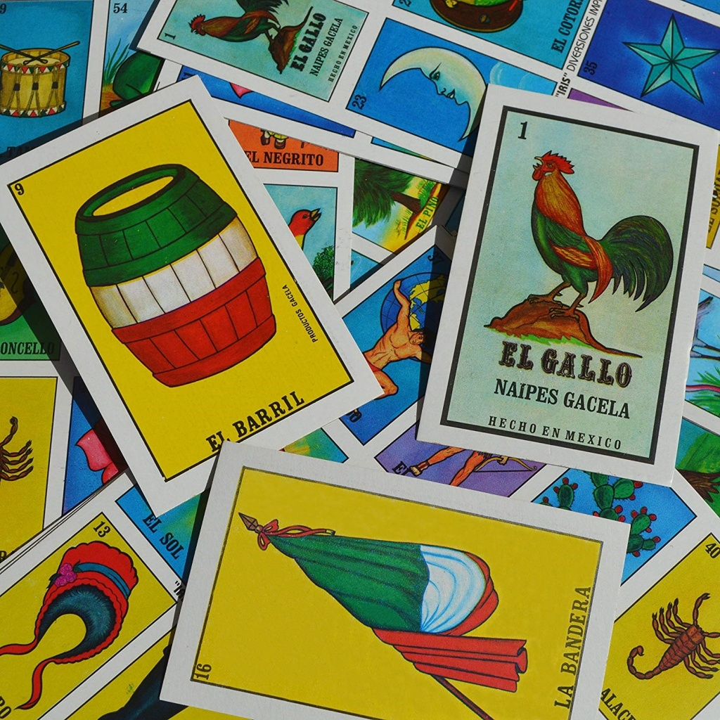 Loteria spanish game for kids