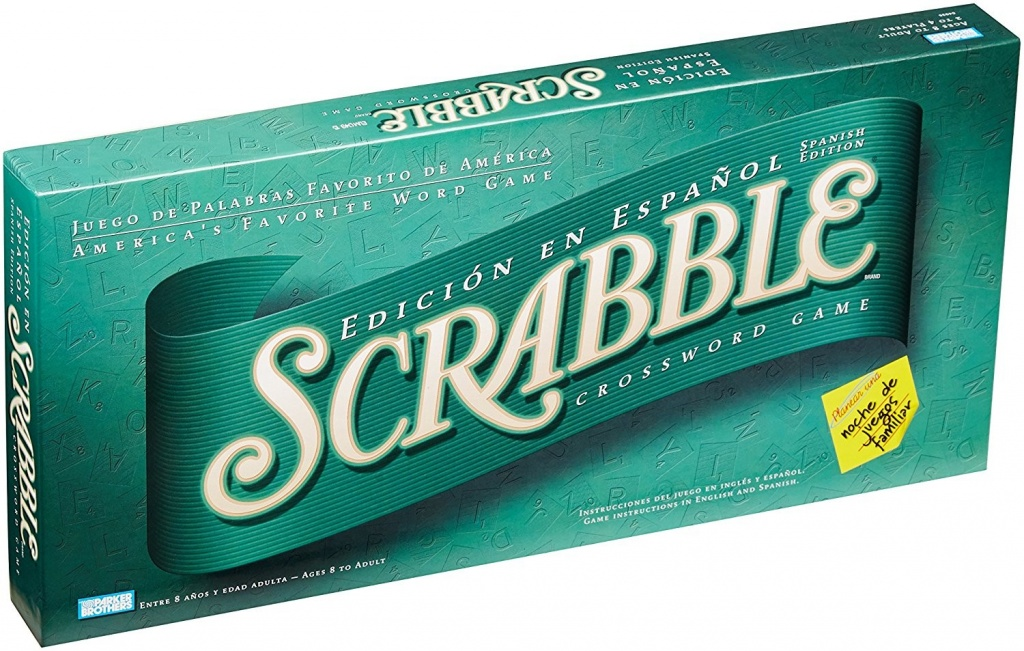 Scrabble Spanish board game for kids