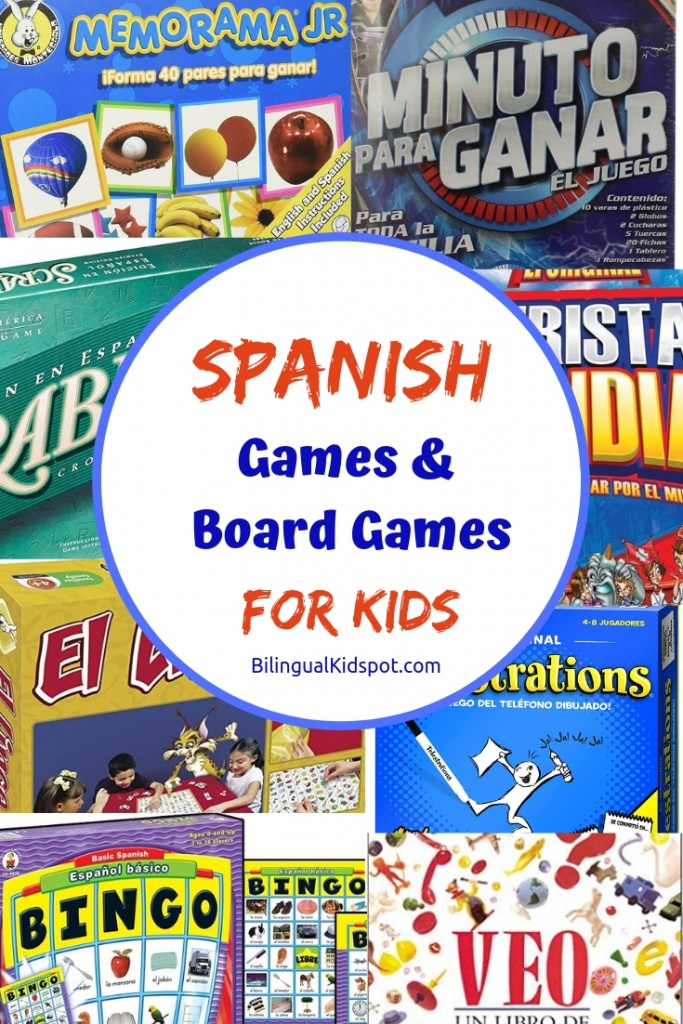 Spanish Games and Board Games for Kids