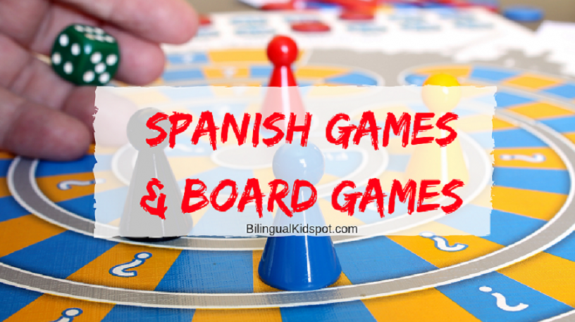 Spanish Games for Kids - Bilingual Kidspot