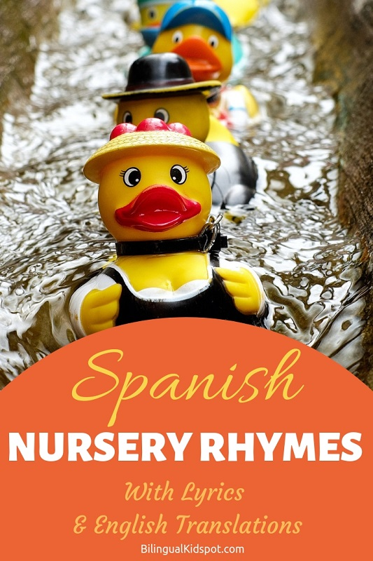 Spanish nursery rhymes for children