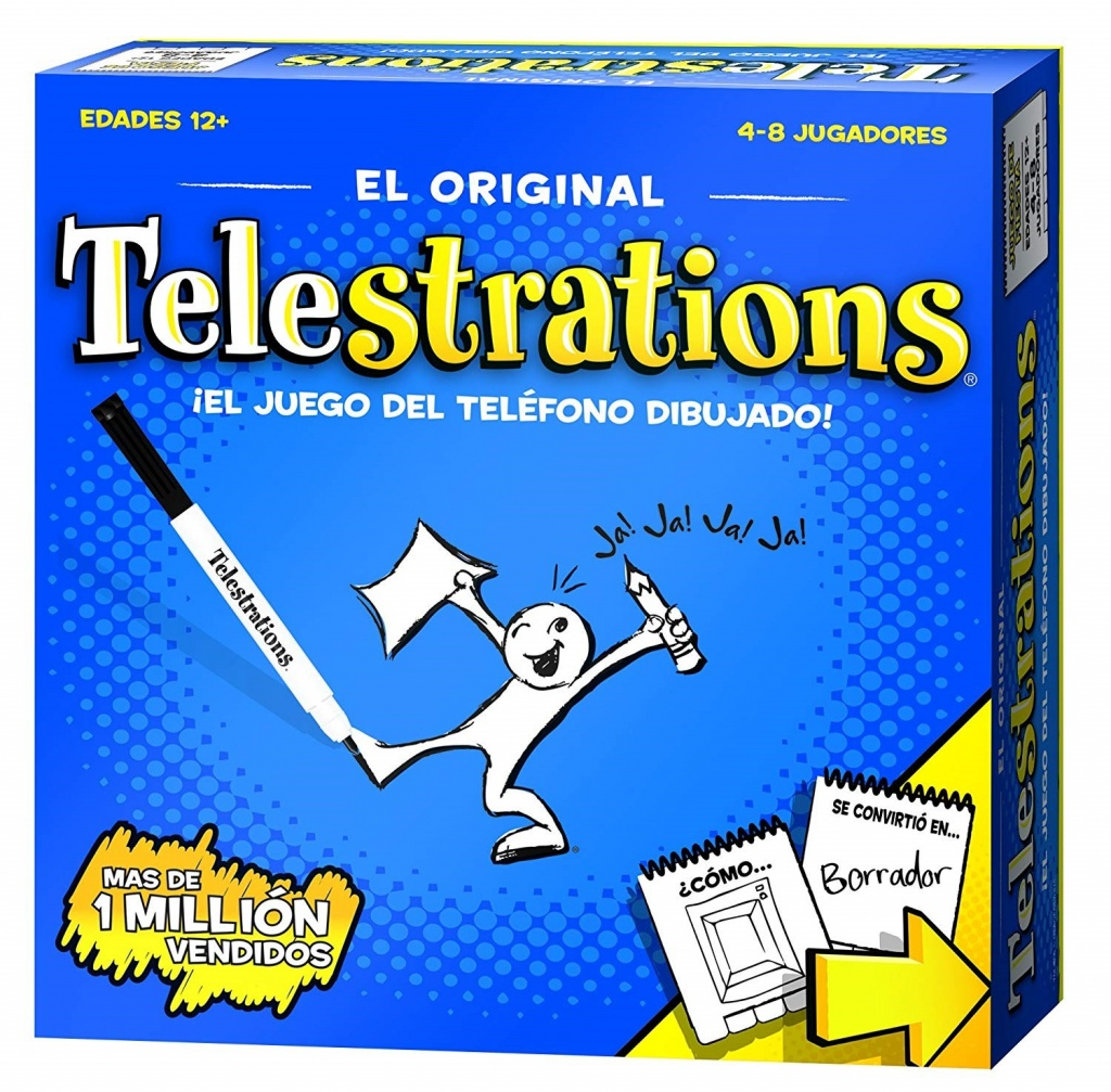 Telestrations: Spanish board game