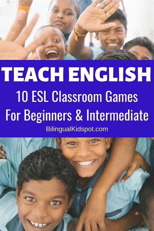 ESL Classroom Games for Kids in English Class