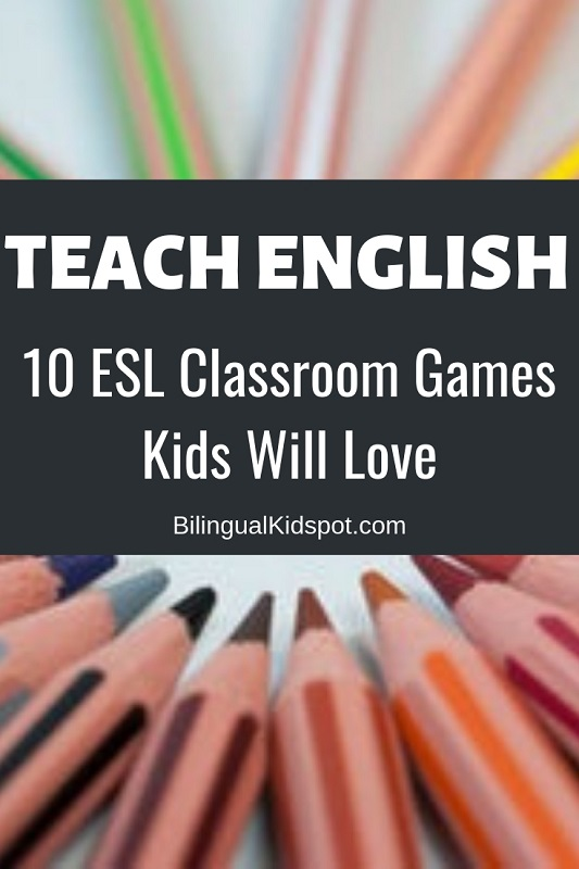 10 ESL Classroom Games for Kids