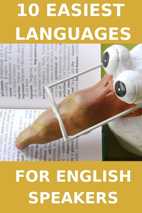 The Easiest languages to learn for English Speakers