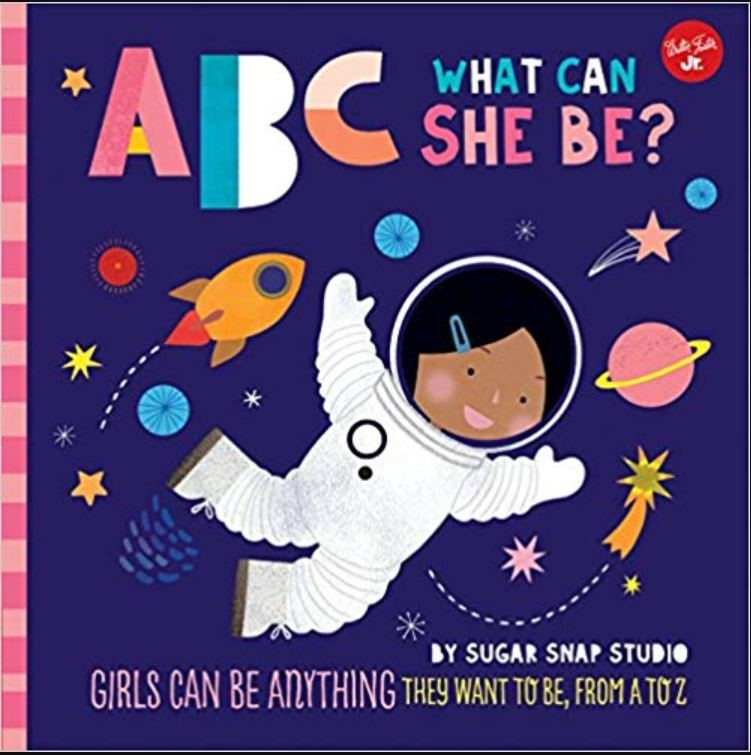 ABC what can she be - Diversity books for kids