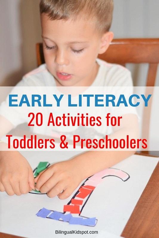 Early Literacy Activities for Preschoolers - Bilingual Kidspot