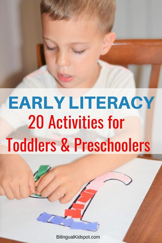 20 Early Literacy Activities for Preschoolers