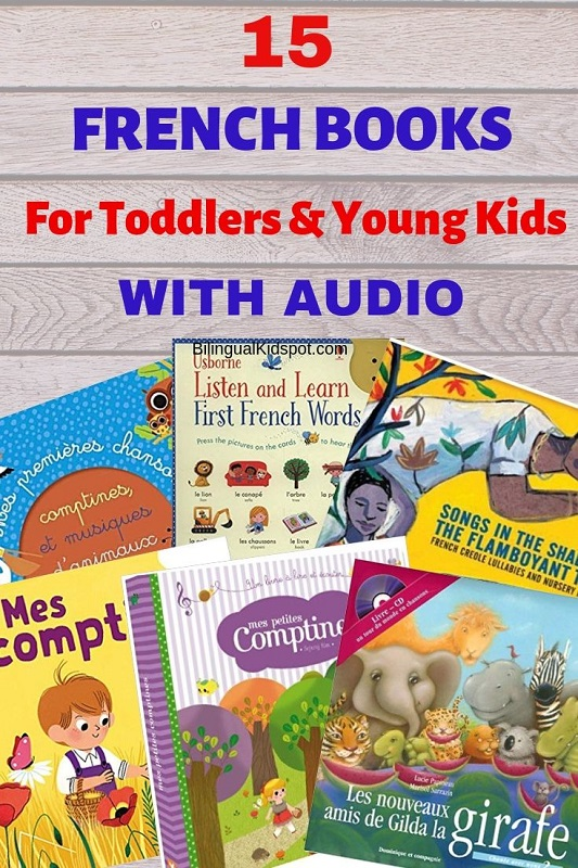 French Books for Kids with Audio