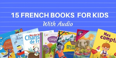 French Books for young Kids with Audio