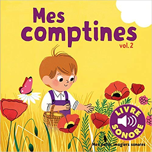 Mes comptines-french-kids-book