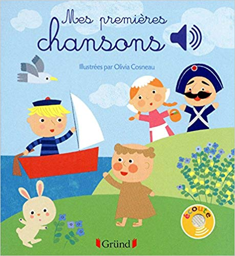 Mes premieres chansons - French books for kids with audio
