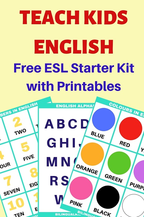 Teach Kids English - Starter Kit