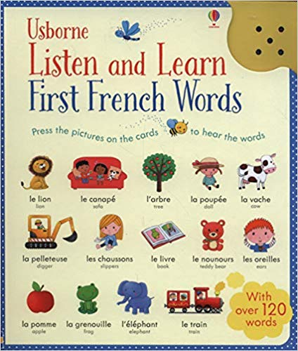 Usborne Listen and Learn French words for Kids