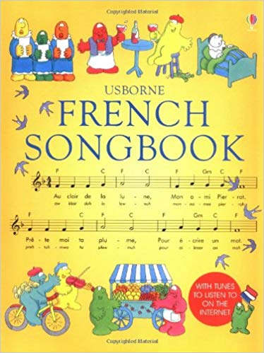 Usborne French Song Book for Kids