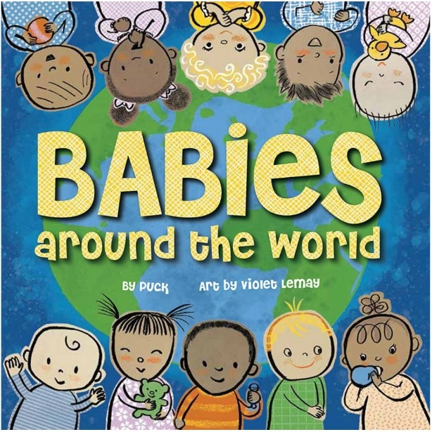 Babies around the world - Diversity Book for kids