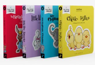 Canticos Spanish Book Set for babies and toddlers