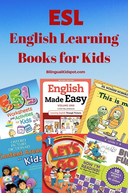 ESL English Learning Books for Children