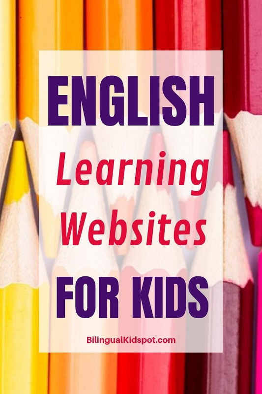 ESL English learning websites for kids