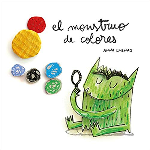El Monstro de colores - Spanish book for babies and toddlers