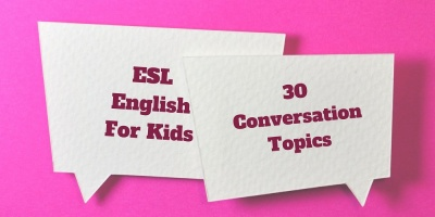 English conversation topics for young students