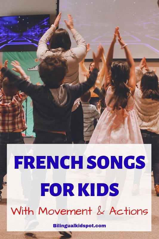 French Action Songs for Children