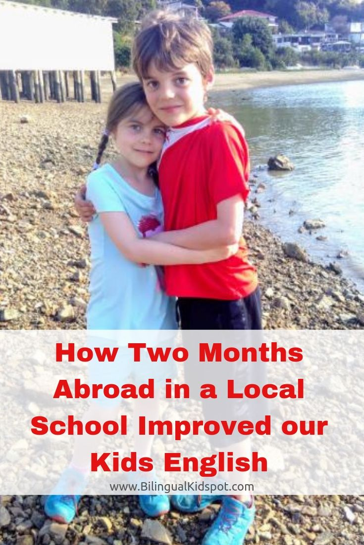 Improve Kids Language Skills in a Local School Abroad