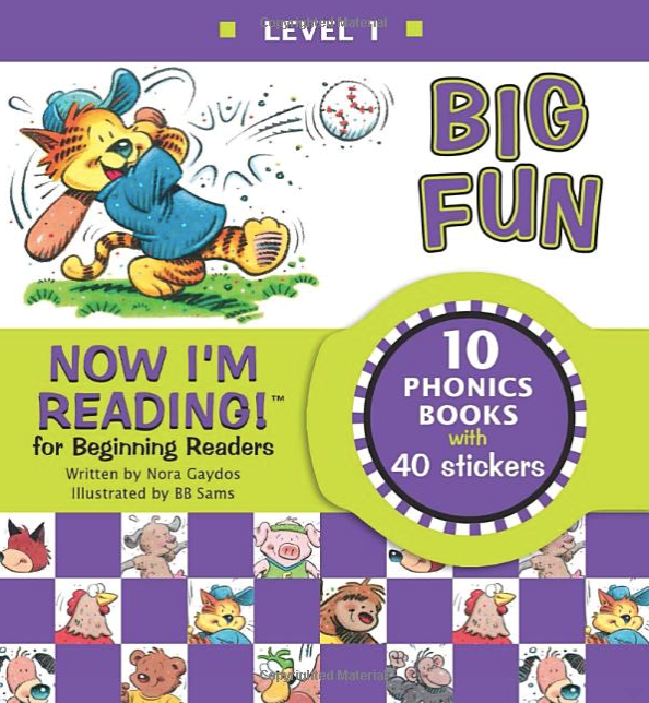 Now I am reading for beginners - ESL books for kids