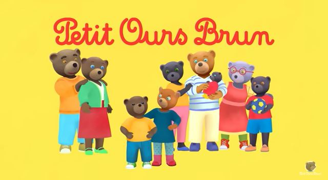 Petit Ours Brun French cartoon
