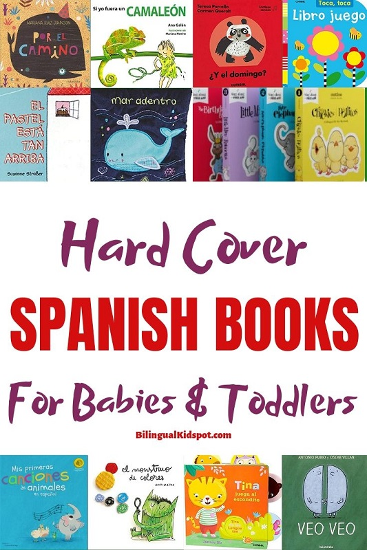 Spanish Board Books for Babies and Toddlers