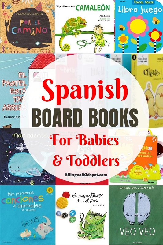Spanish books for Toddlers and Babies