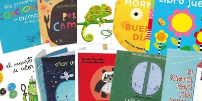 Spanish books for babies and toddlers