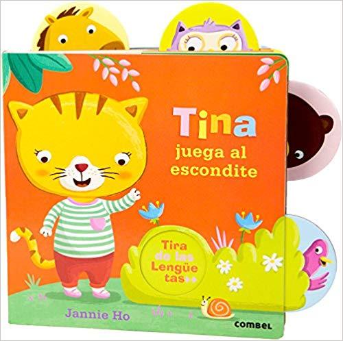 Tina Juega al Escondite - Spanish board book for babies and toddlers